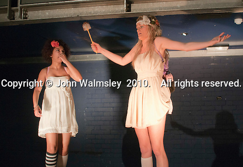 """""""Fame, Faust & Flying Colours"""", musical theatre rehearsal, Further Education College."""