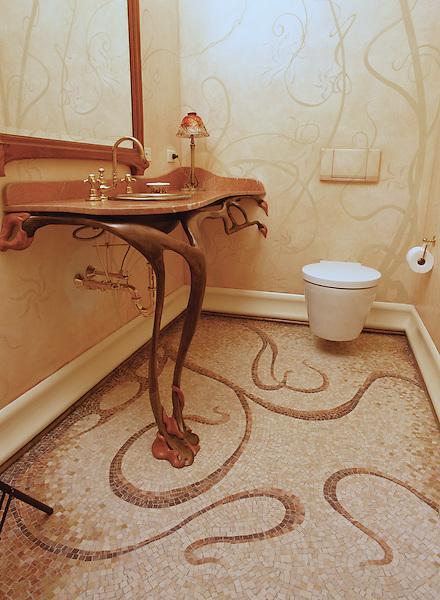 Art Nouveau Bath Floor New Ravenna