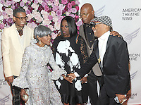 NEW YORK, NY - September26:  B. Michael, Cicely Tyson, LaTanya Richardson, Samuel L. Jackson and Spike Lee attend American Theater Wing Honoring Cicely Tyson at 2016 Gala at the Plaza Hotel  on September 26, 2016 in New York City .  Photo Credit:John Palmer/MediaPunch