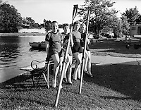 Female Rowing Crew in Galway - special for The Sunday Express .23/06/1958 .