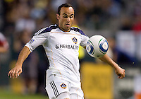 LA Galaxy forward & team Captain Landon Donovan (10) keeps his eyes on the ball. The LA Galaxy and Toronto FC played to a 0-0 draw at Home Depot Center stadium in Carson, California on Saturday May 15, 2010.  .