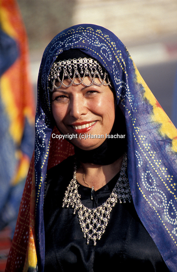 Israel, traditional Yemenite clothing