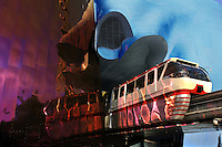 Seattle, Center, Monorail, Washington, EMP, Museum, Music