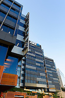 New ANZ Bank Headquarters, Docklands area Melbourne, Victoria. Australia.<br />