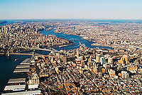 aerial photograph Brooklyn, New York City