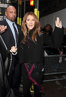 NOV 5 Celine Dion at BBC Radio 2