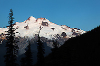 East face of Glacier Peak viewed from Buck Creek Pass, Cascade Mountains, Snohomish County, Washington