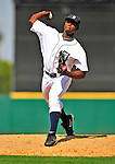 11 March 2009: Detroit Tigers' pitcher Alfredo Figaro on the mound during a Spring Training game against the New York Yankees at Joker Marchant Stadium in Lakeland, Florida. The Tigers defeated the Yankees 7-4 in the Grapefruit League matchup. Mandatory Photo Credit: Ed Wolfstein Photo