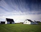 Acadian Farm Buildings.New Sweden, Maine