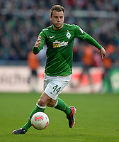 FUSSBALL   1. BUNDESLIGA   SAISON 2012/2013    30. SPIELTAG SV Werder Bremen - VfL Wolfsburg                          20.04.2013 Philipp Bargfrede (SV Werder Bremen)