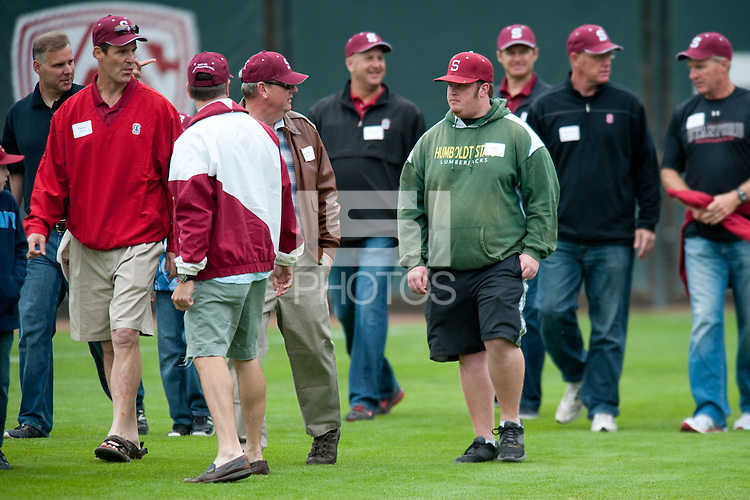 STANFORD, CA--Stanford Cardinal against the CAL Bears at Sunken Diamond field on the Stanford campus.