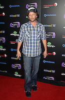 DAVID SPADE .At SWAGG VIP Kid Rock Concert at the Joint inside the Hard Rock Hotel and Casino, Las Vegas, Nevada, USA,.7th January 2010..full length cap hat blue plaid tartan shirt jeans .CAP/ADM/MJT.© MJT/AdMedia/Capital Pictures.