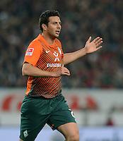 FUSSBALL  1. BUNDESLIGA  SAISON 2011/2012  31. SPIELTAG 13.04.2012 VfB Stuttgart - SV Werder Bremen Claudio Pizarro (SV Werder Bremen)