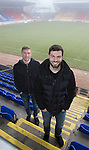 St Johnstone duo Richie Foster and David Wotherspoon pictured at McDiarmid Park today after both signing new contracts to keep them at the club&hellip;30.01.17<br />Picture by Graeme Hart.<br />Copyright Perthshire Picture Agency<br />Tel: 01738 623350  Mobile: 07990 594431