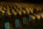Ghostly apparitions arise amid the tombstones of Arlington National Cemetery.