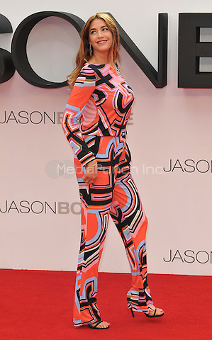 Lisa Snowdon at the &quot;Jason Bourne&quot; European film premiere, Odeon Leicester Square cinema, Leicester Square, London, England, UK, on Monday 11 July 2016.<br /> CAP/CAN<br /> &copy;CAN/Capital Pictures /MediaPunch ***NORTH AND SOUTH AMERICAS ONLY***