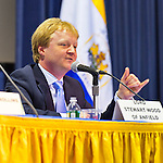 "Lord Stewart Wood of Anfield is a panelist at ""Change in the White House? Comparing the George W. Bush and Barack Obama Presidencies"" on Thursday, April 19, 2012, at Hofstra University, Hempstead, New York, USA. Hofstra's event was part of ""Debate 2012: Pride, Politics and Policy"" which leads up to the Presidential Debate Hofstra is hosting on October 15, 2012. Lord Stewart Wood, a British academic and Labour life peer in the House of Lords, served as Senior Policy Advisor to Prime Minister Brown and campaign manager for the successful campaign of Ed Milliband to Labour Party Leader, and a member of the Shadow Cabinet."