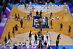 GREENVILLE, SC - MARCH 17: The University of North Carolina and Texas Southern University warm up before their game during the 2017 NCAA Men's Basketball Tournament held at Bon Secours Wellness Arena on March 17, 2017 in Greenville, South Carolina. (Photo by Grant Halverson/NCAA Photos via Getty Images)