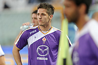 Pescara 19/05/2013: Jovetic Stevan calciatore della Fiorentina durante il riscaldamento.