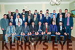 Ballydonoghue SGAA Social; Pictured at the Ballydonoghue GAA club social held \at the Listowel Arms Hotel on Saturday night last were Ballydonoghue Junior team that won the 2016 North Kerry Junior Championship.
