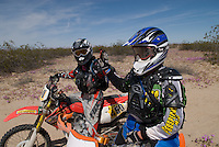 Team 179x, First place finishers for Class 20 motorcycle in the 2008 San Felipe Baja 250