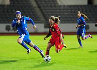 2011-09-21 Iceland - Belgium