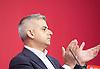 Labour Leadership <br /> Conference <br /> at The QE Conference Centre, Westminster, London, Great Britain <br /> 12th September 2015 <br /> <br /> <br /> Sadiq Khan <br /> Labour's mayor of London candidate <br /> <br /> <br /> Photograph by Elliott Franks <br /> Image licensed to Elliott Franks Photography Services