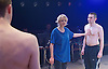 Yen<br /> by Anna Jordan <br /> at The Royal Court Theatre, London, Great Britain <br /> 22nd January 2016 <br /> Press Photocall <br /> <br /> Jake Davies as Bobbie<br /> <br /> Alex Austin as Hench <br /> <br /> Sian Brecken as Maggie<br /> <br /> <br /> <br /> Photograph by Elliott Franks <br /> Image licensed to Elliott Franks Photography Services