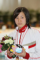 Rino Hosoda, .FEBRUARY 11, 2012 - Swimming : .The 53rd Japan Swimming Championships (25m) .Women's 50m Butterfly Victory Ceremony .at Tatsumi International Swimming Pool, Tokyo, Japan. .(Photo by YUTAKA/AFLO SPORT) [1040]