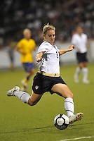 Amy Rodriguez...USWNT tied Sweden 1-1 at Morrison Stadium, Omaha Nebraska.