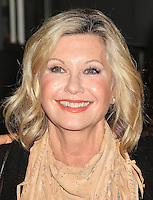 NEW YORK, NY - OCTOBER 3: Olivia Newton-John spotted leaving 'AOL Build'  in New York, New York on October 3, 2016.  Photo Credit: Rainmaker Photo/MediaPunch