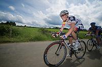 smiling Lars Bak (DNK)<br /> <br /> 2013 Ster ZLM Tour <br /> stage 4: Verviers - La Gileppe (186km)