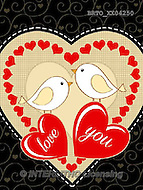 Valentine paintings