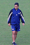 23 May 2003: Head coach Omid Namazi. The San Diego Spirit practiced at SAS Stadium in Cary, NC.