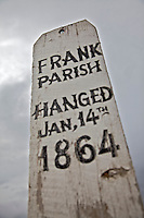 Frank Parish Grave Marker, Virginia City Montana