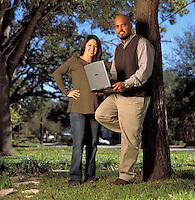 Denise &amp; Junab Ali, Mobius Partners. San Antonio, TX<br /> Photo by Chris Covatta