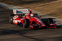 20-21 Febuary, 2012 Birmingham, Alabama USA.Scott Dixon pilots the Dario Franchitti No.10.(c)2012 Scott LePage  LAT Photo USA