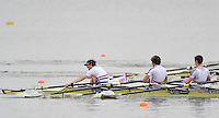 Brandenburg, GERMANY,  BLM4X- Repechage,  GBR BLM4X, Bow Henry Chin, Nicholas FAIRHEAD, Bob HEWITT and Christopher BODDY, 2008 FISA U23 World Rowing Championships, Friday, 18/07/2008, [Mandatory credit: Peter Spurrier Intersport Images].. Rowing Course: Brandenburg, Havel Rowing Course, Brandenburg, GERMANY