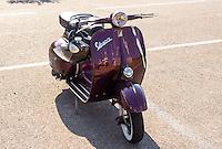 Classic Vespa Scooter.