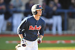 Ole Miss' Auston Bousfield (9) vs. North Carolina-Wilmington at Oxford-University Stadium in Oxford, Miss. on Friday, February 24, 2012. Ole Miss won 2-0.