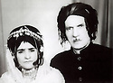 Iran 1962  A Kurdish couple: Fatmeh and Ibrahim Ghassemlou, parents of Soheila Ghassemlou  <br />