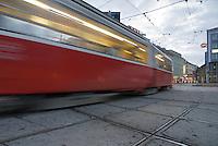 Passing Tram, Vienna, Austria