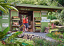 Laulima Farm produce stand in Kipahulu; Hana Coast, Maui, Hawaii.