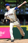 Seattle Mariners' reliever Tyler Olson pitches against the Texas Rangers at SAFECO Field in Seattle on April 10, 2015.  The Mariners came from behind to beat the Rangers 11-10.  Jim Bryant Photo. ©2015. All Rights Reserved.