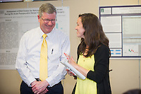 William Jeffries, Ph.D., left, Elisabeth Anson. SURGERY SENIOR MAJOR SCIENTIFIC PROGRAM.