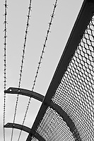 Security fencing on Sydney Harbour Bridge keeps pedestrians where they should be