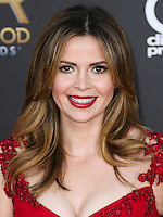 HOLLYWOOD, LOS ANGELES, CA, USA - NOVEMBER 14: Carly Steel arrives at the 18th Annual Hollywood Film Awards held at the Hollywood Palladium on November 14, 2014 in Hollywood, Los Angeles, California, United States. (Photo by Xavier Collin/Celebrity Monitor)