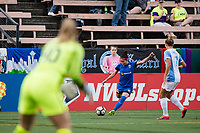 Seattle, WA - Sunday, May 21, 2017: Nahomi Kawasumi during a regular season National Women's Soccer League (NWSL) match between the Seattle Reign FC and the Orlando Pride at Memorial Stadium.