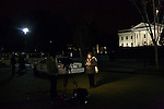 A Spanish speaking television reporter reports from the White House on Wednesday, November 7, 2012 in Washington, D.C.