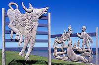 Ile du Havre-Aubert, Iles de la Madeleine, Quebec, Canada - Wood Carving at Artisans du Sable - (Amherst Island, Magdalen Islands)